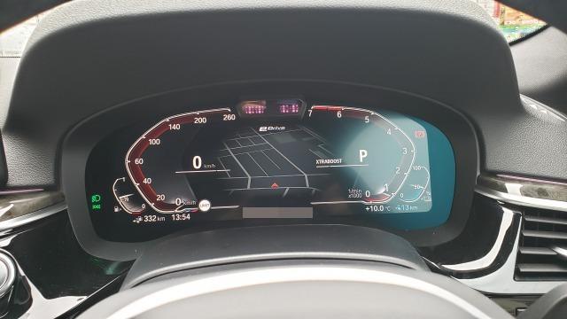 BMW5シリーズスピードメータ